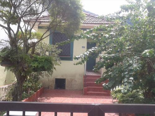 ref.: 245001 - casa em santos, no bairro campo grande - 2 dormitórios