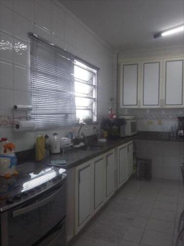 ref.: 245300 - casa em santos, no bairro embare - 4 dormitórios