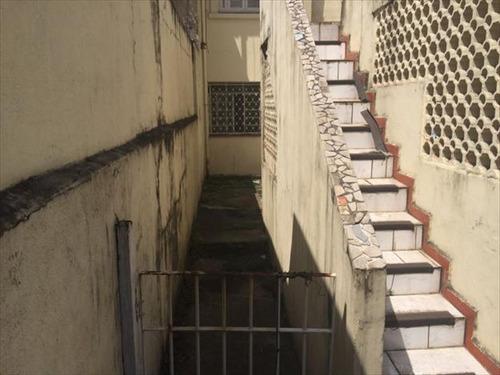 ref.: 245400 - casa em santos, no bairro boqueirao - 3 dormitórios