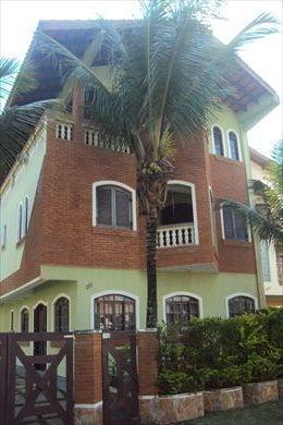 ref.: 245501 - casa em itanhaem, no bairro campos eliseos - 5 dormitórios