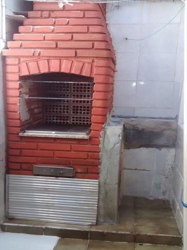 ref.: 2458 - casa condomínio fechado em praia grande, no bairro boqueirao - 1 dormitórios