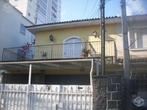 ref.: 245900 - casa em santos, no bairro embare - 3 dormitórios