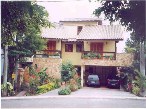 ref.: 246100 - casa condomínio fechado em santana de parnaiba, no bairro alphaville - 4 dormitórios