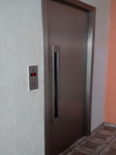 ref.: 2475 - apartamento em praia grande, no bairro boqueirao - 1 dormitórios