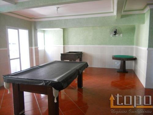 ref.: 2484 - apartamento em praia grande, no bairro guilhermina - 3 dormitórios