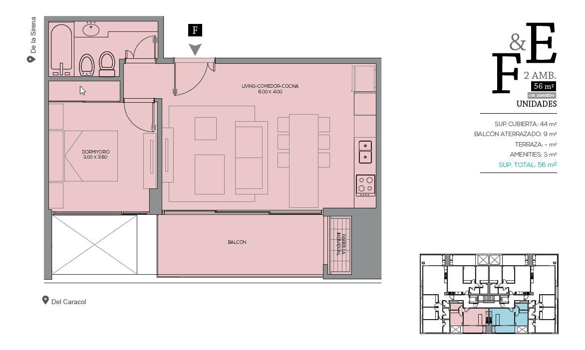 ref: 2485 - departamento en alquiler - zona centro playa - pinamar.