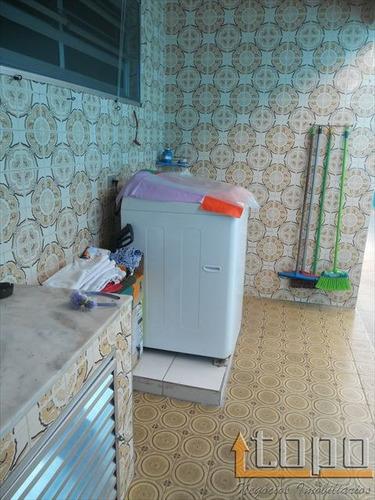 ref.: 2490 - casa em praia grande, no bairro aviacao - 3 dormitórios