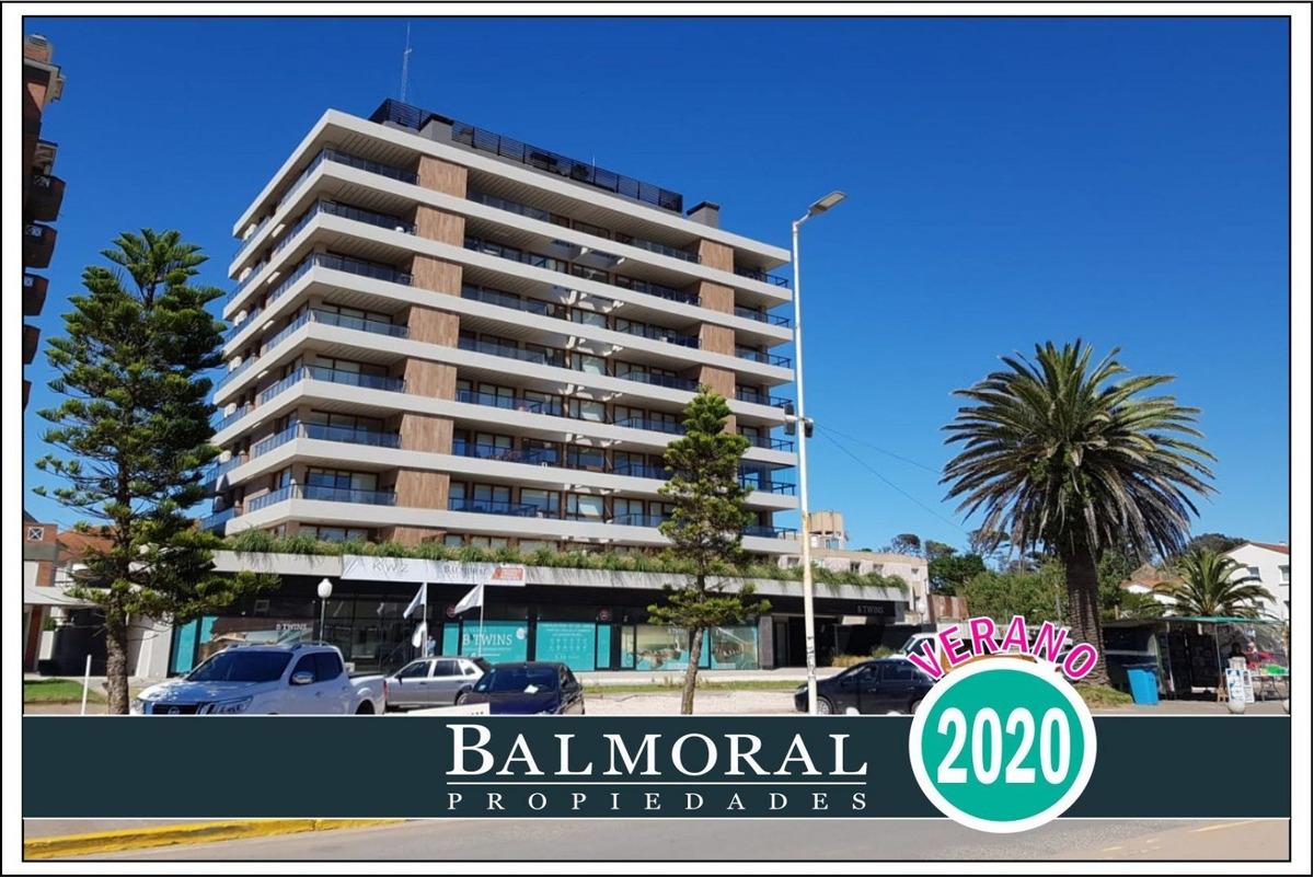 ref: 2490 - departamento en alquiler - zona centro playa - pinamar -