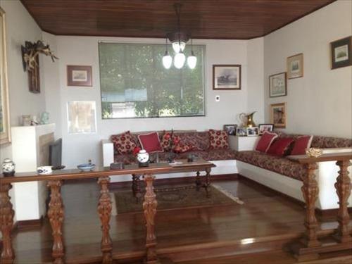 ref.: 249500 - casa condomínio fechado em santos, no bairro santa terezinha - 6 dormitórios