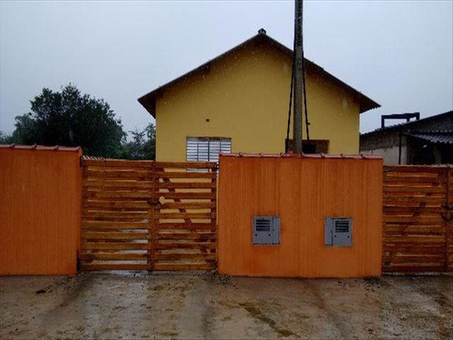 ref.: 25 - casa em mongagua, no bairro jussara - 2 dormitórios