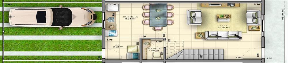 ref.: 250 - casa em bertioga, no bairro vila agaó - 3 dormitórios