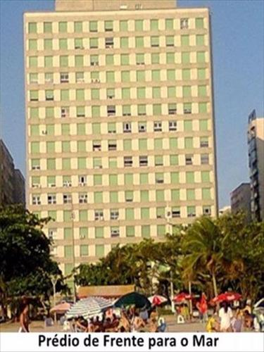 ref.: 250200 - apartamento em santos, no bairro aparecida - 1 dormitórios