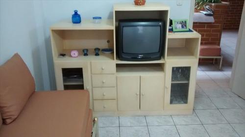 ref.: 251 - apartamento em praia grande, no bairro boqueirao - 1 dormitórios