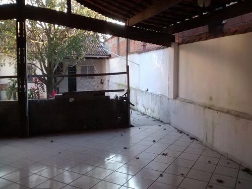 ref.: 2515 - casa em praia grande, no bairro guilhermina - 2 dormitórios