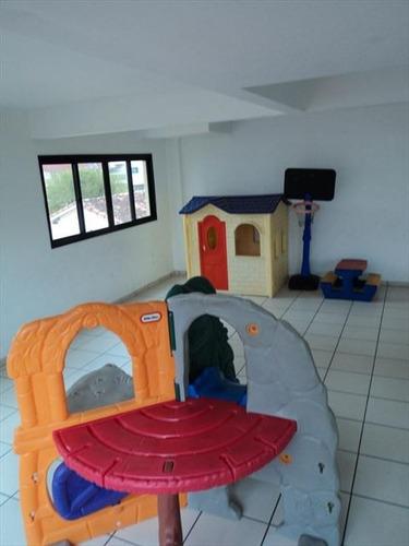 ref.: 2528 - apartamento em praia grande, no bairro guilhermina - 2 dormitórios