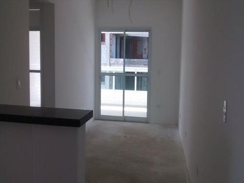 ref.: 2532 - apartamento em praia grande, no bairro boqueirao - 2 dormitórios