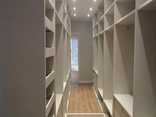 ref.: 253200 - apartamento em santos, no bairro embare - 3 dormitórios