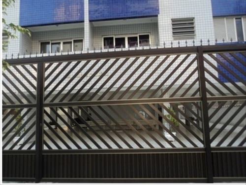 ref.: 2537 - apartamento em praia grande, no bairro canto do forte - 1 dormitórios