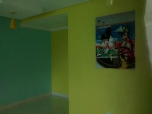 ref.: 2542 - apartamento em praia grande, no bairro canto do forte - 2 dormitórios