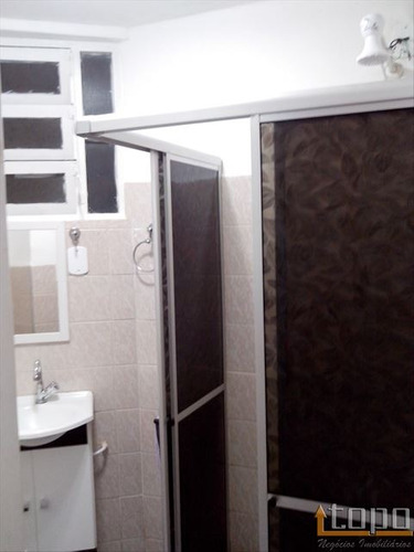 ref.: 2549 - apartamento em praia grande, no bairro tupi - 1 dormitórios