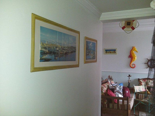 ref.: 256 - apartamento em guaruja, no bairro parque enseada - 3 dormitórios