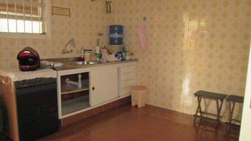 ref.: 256 - casa em itanhaém, no bairro praia do sonho - 3 dormitórios