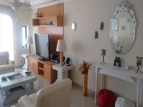 ref.: 256301 - apartamento em guaruja, no bairro vila luis antonio - 4 dormitórios