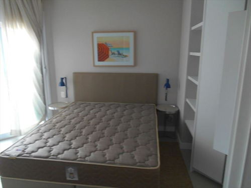 ref.: 256701 - apartamento em santos, no bairro pompeia - 1 dormitórios