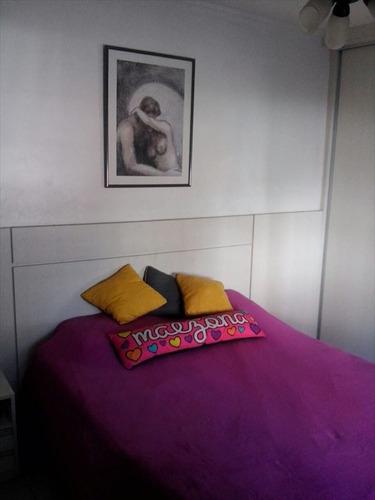 ref.: 256900 - apartamento em santos, no bairro aparecida - 3 dormitórios