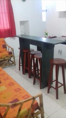 ref.: 257 - apartamento em itanhaém, no bairro cibratel i - 2 dormitórios