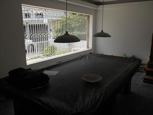 ref.: 257601 - casa condomínio fechado em santos, no bairro ponta da praia - 3 dormitórios