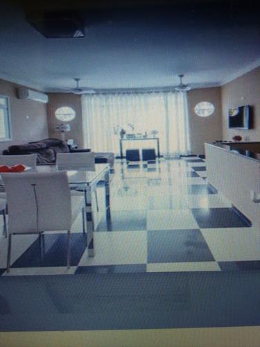 ref.: 257800 - casa em santos, no bairro boqueirao - 3 dormitórios
