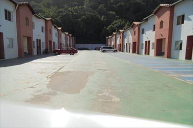 ref.: 25807 - casa condomínio fechado em mongagua, no bairro vila arens - 2 dormitórios