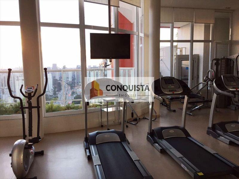 ref.: 258200 - apartamento em sao paulo, no bairro campo belo - 1 dormitórios