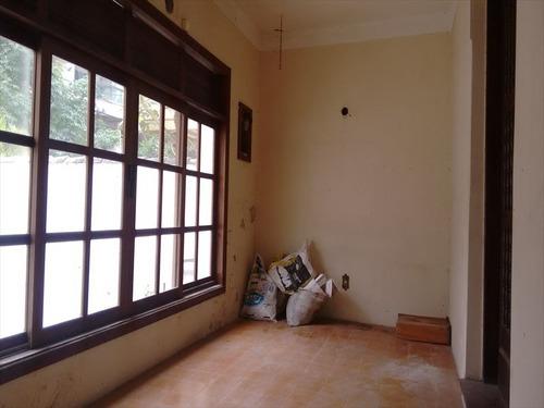 ref.: 258500 - casa em santos, no bairro boqueirao - 3 dormitórios