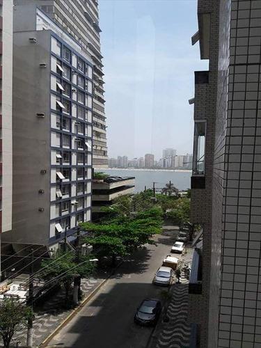 ref.: 258601 - apartamento em sao vicente, no bairro itarare - 2 dormitórios