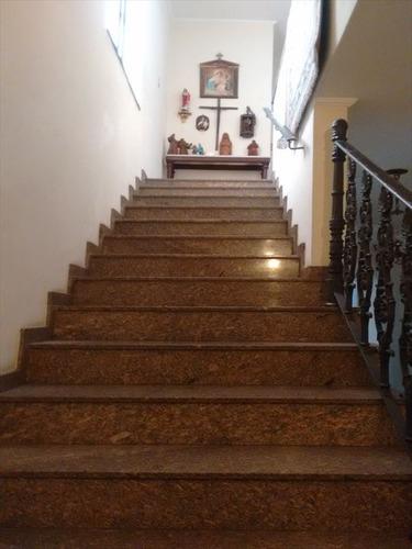 ref.: 258800 - casa em santos, no bairro vila rica - 3 dormitórios