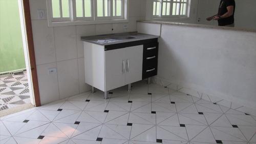 ref.: 259 - casa em itanhaém, no bairro jardim magalhães - 2 dormitórios