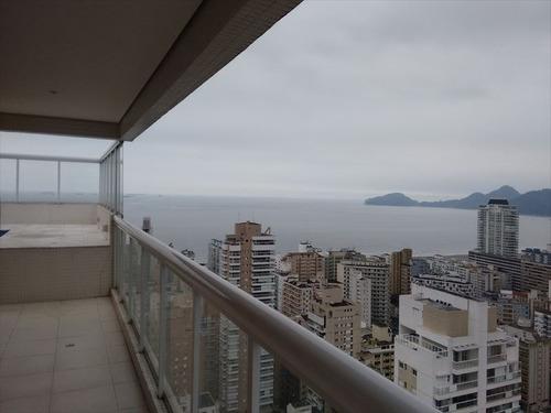 ref.: 259200 - apartamento em santos, no bairro gonzaga - 4 dormitórios