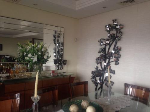 ref.: 259300 - casa condomínio fechado em santos, no bairro morro santa terezinha - 4 dormitórios