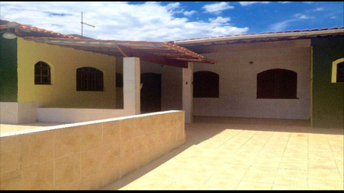 ref.: 26 - casa em itanhaém, no bairro bopiranga - 2 dormitórios