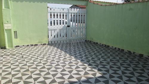 ref.: 26000 - casa em itanhaém, no bairro jardim magalhães - 2 dormitórios