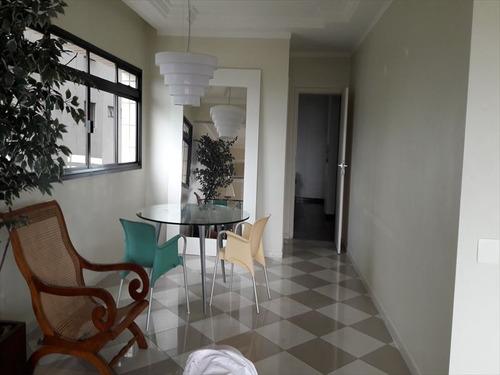 ref.: 260401 - apartamento em santos, no bairro aparecida - 3 dormitórios