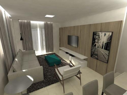 ref.: 260500 - casa em santos, no bairro boqueirao - 4 dormitórios