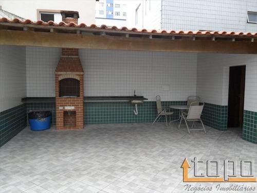 ref.: 2607 - apartamento em praia grande, no bairro guilhermina - 3 dormitórios