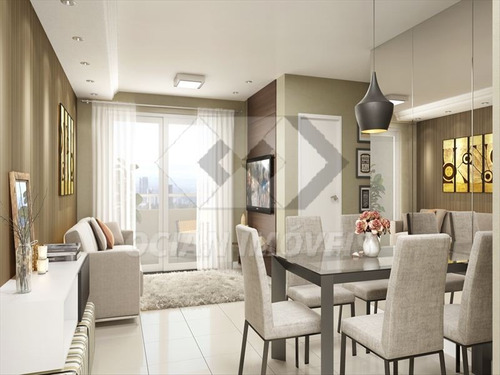 ref.: 261 - apartamento em praia grande, no bairro ocian - 2 dormitórios