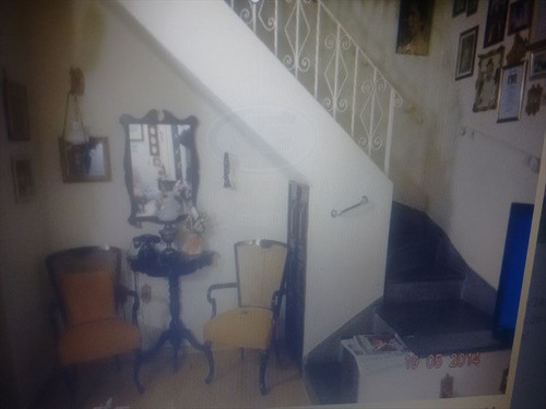 ref.: 261500 - casa em santos, no bairro embare - 3 dormitórios