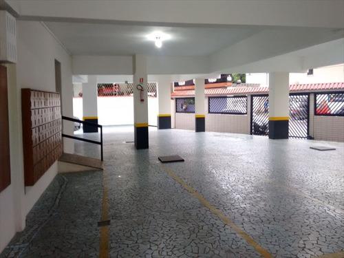 ref.: 262100 - apartamento em santos, no bairro boqueirao - 2 dormitórios