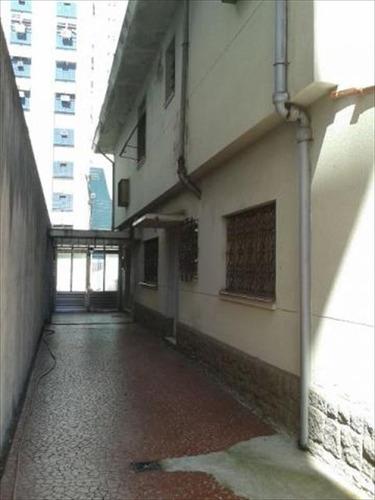 ref.: 262101 - casa em santos, no bairro aparecida - 3 dormitórios