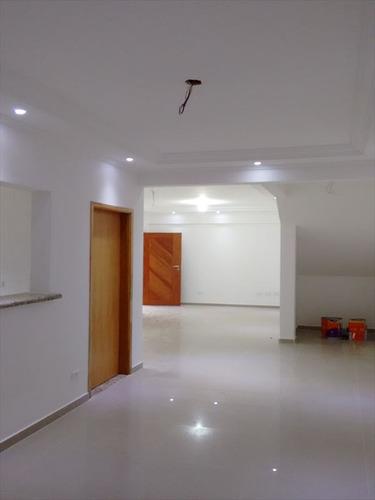 ref.: 262200 - casa em santos, no bairro embare - 3 dormitórios
